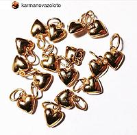 Золотое сердце. Золото 585