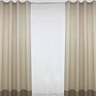 Готовые шторы на люверсах (цвета в ассортименте)