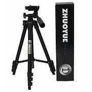 Профессиональный штатив для фотоаппарата Zhuoyue ZY-334 высота 35-105 см.