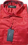 Подростковые приталенные атласные рубашки SIGMAN недорого, фото 2