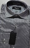 Подростковые приталенные атласные рубашки SIGMAN недорого, фото 4