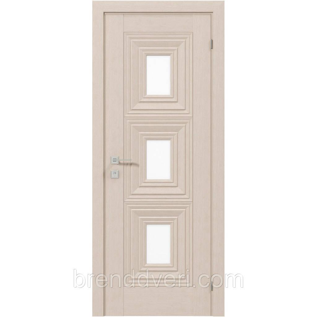 Двери Родос Модель Berita со стеклом