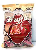 Шоколадные конфеты с клубничным вкусом Truffle Strawberry Chocolate , 1000 гр