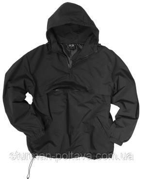 Куртка чоловіча демисизонная COMBAT ANORAK WINTER ШВАРЦ MIL-TEC® колір чорний Німеччина