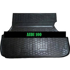Килимок в багажник Audi 100 (1991-1994) (седан) (Avto-Gumm)