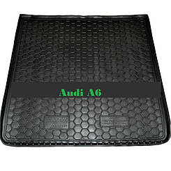 Килимок в багажник Audi A6 (1994-1997) (універсал) (Avto-Gumm)