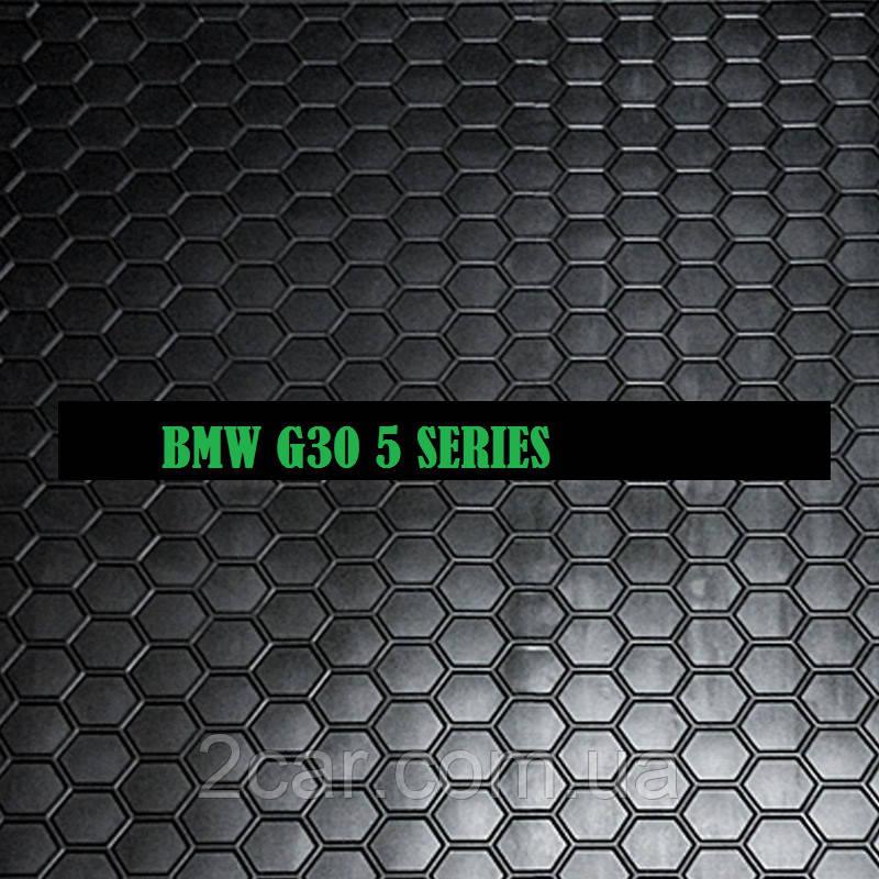 Полиуретановый коврик в багажник BMW G30 5-серия (2017>) (седан