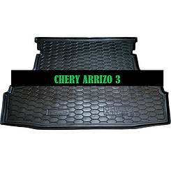 Коврик в багажник Chery Arrizo 3 (2016>) (Avto-Gumm)