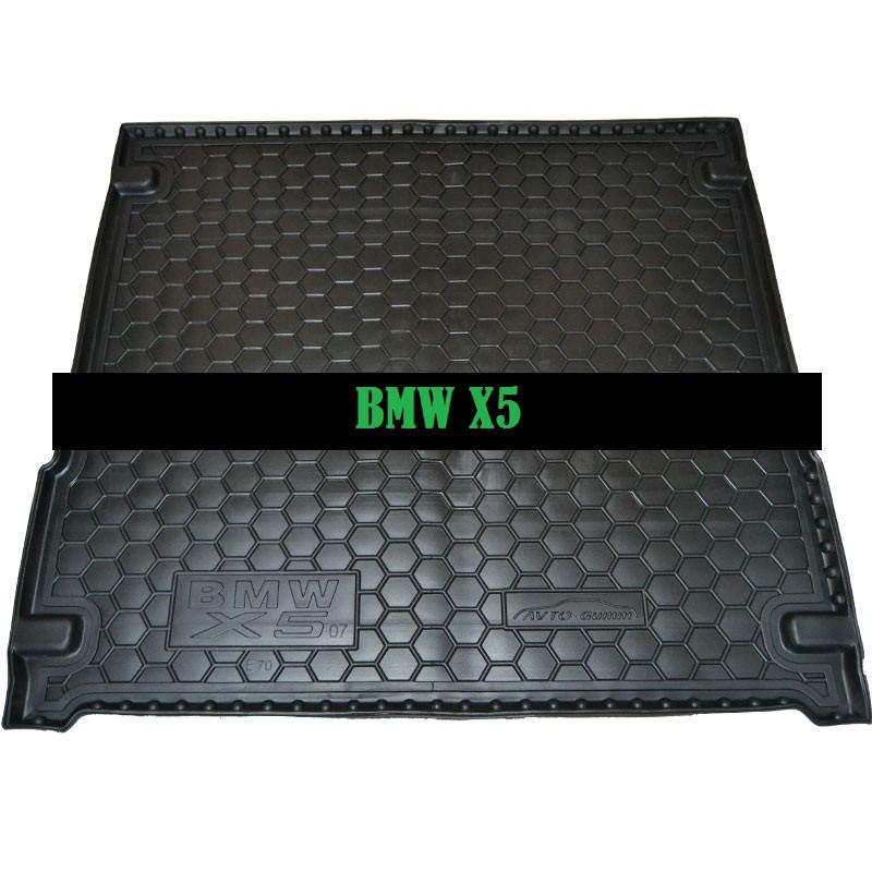 Полиуретановый коврик в багажник BMW Е70 X-5 (2007>) (F15 2015)