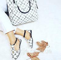 Набор LV: сумочка, сандали, кошелек