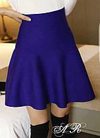 Юбочка (Фабричный Китай) качество люкс ткань плотная машинная вязка трикотаж держит форму размер универсальный