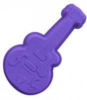 """Силиконовая форма для выпечки """"Гитара"""" 34,5х19 см"""