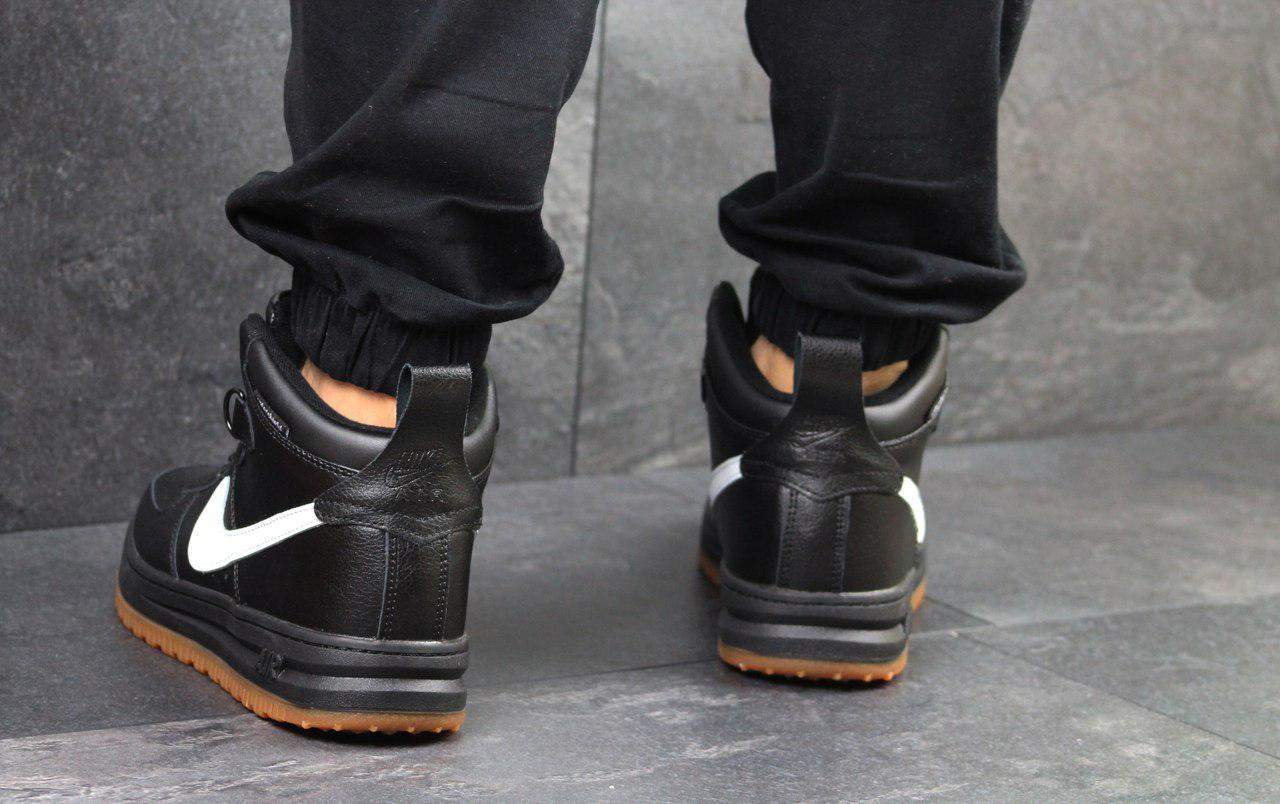 98ca3a1b ... фото Мужские кроссовки Nike Lunar Force (черно-белые), ТОП-реплика, ...