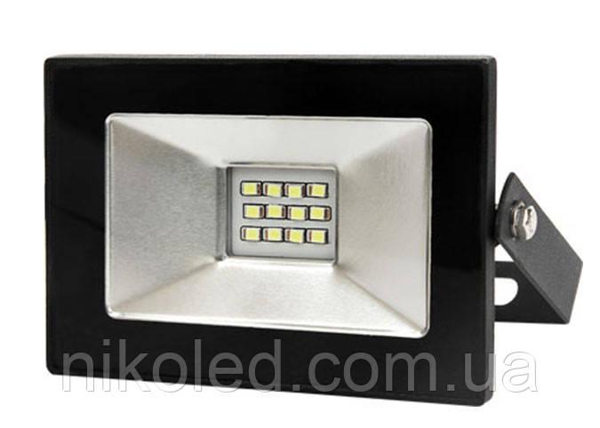 Светодиодный прожектор LED 10W планшет стандарт SMD холодный белый