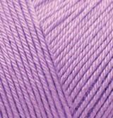Пряжа для ручного вязания Alize  BABY BEST(беби бест) акрил антиаллергенный- 43 лаванда