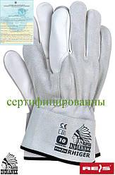 Перчатки рабочие для строителей REIS (RAW-POL) Польша RHIGER JSW