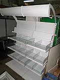 Стеллаж кондитерский 1,60 м.б/у., стеллаж для кодитерских изделий б.у, фото 4