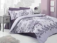 Комплект постельного белья  nazenin сатин размер евро ROSA LILA