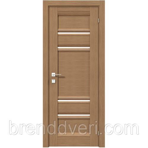 Двери Родос Модель Donna полустеклом