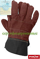 Перчатка из яловой кожи REIS (RAW-POL) Польша RLCS CK