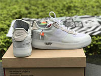 """Кроссовки Off White X Nike Air Force 1 Low - """"White"""""""