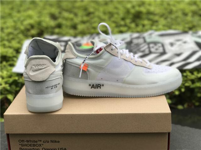 35f1841d кроссовки Off White X Nike Air Force 1 Low White цена 1 90240