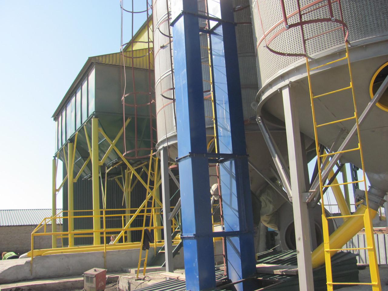 Зерноочистительный комплекс ЗАВ-25. Строительство с нуля, реконструкция, модернизация.