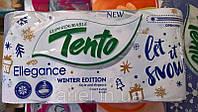 Туалетний папір TENTO Ellegance  3-х шаровий , 8 рулонів /упаковка