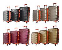 Дорожный чемодан Bonro Next на колесах набор 3 штуки, фото 1