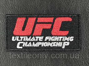 Нашивка UFC 80 х 40 мм