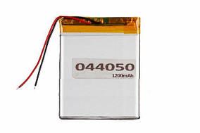 Литий-полимерный аккумулятор 044050 1200 mAh 37x51mm