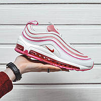 Женские кроссовки Nike Air Max 97 White Pink