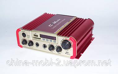 Автомобильный усилитель CMaudio CM-2047U c Karaoke MAXPOWER 400W (2*20W)