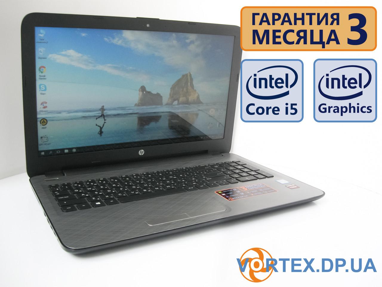 Ноутбук HP 15-ay108ur 15.6 (1366х768) / Intel Core i5-7200U (2x3,1GHz)