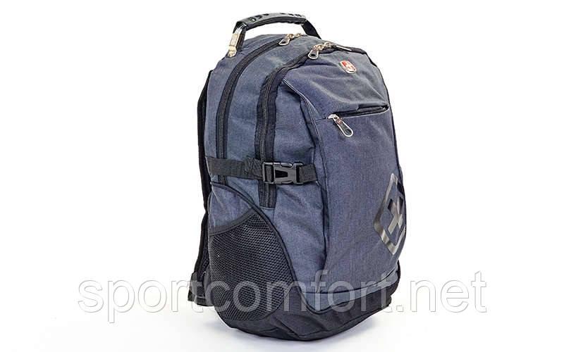 Рюкзак городской Victorinox  (48х30х22см)  черный