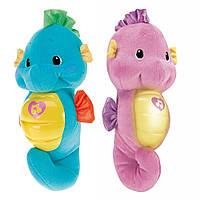 Мягкая игрушка-ночник Морской конек, Fisher-Price, DGH82 (DGH84), /G