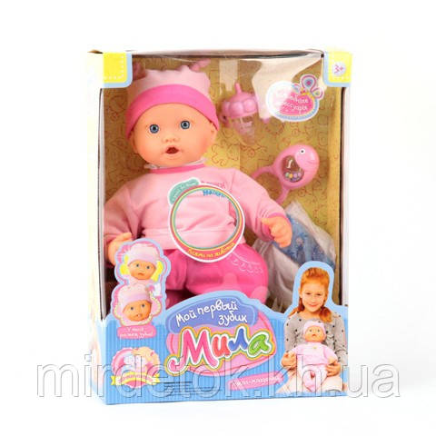 "Кукла Пупс 5259 ""Мила"" растет зуб"
