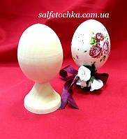 Яйцо деревянное на ноге