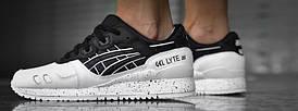 Мужские кроссовки Asics Gel Lyte III Oreo Pack White