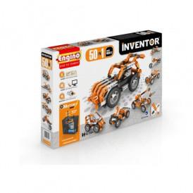 Конструктор серии INVENTOR MOTORIZED 50 в 1  с электродвигателем