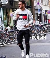"Свитшот мужской (46-50) ""PUDRA"" - купить оптом со склада 2P/NR-5001"