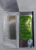 Иглы для вышивки бисером №11 (15 шт в упаковке)