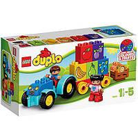 Конструктор LEGO DUPLO Мой первый трактор Лего 10615