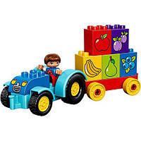 Конструктор Лего Оригинал Мой первый трактор Lego Duplo 10615