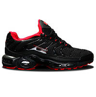 Мужские кроссовки  Nike Air Max Tn+ Black red