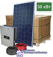"""Cонячна електростанція 30 кВт """"Продуктивна"""" на сонячних батареях від JA Solar"""