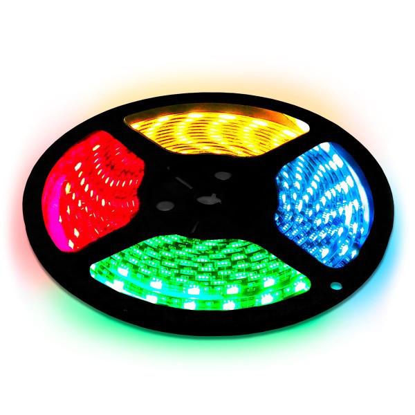 Светодиодная лента LED Biom 5050-60 RGB IP65, герметичная, 1м