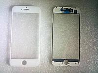 Стекло с дисплейной рамкой и OCA плёнкой для iPhone 7 белое orig качество