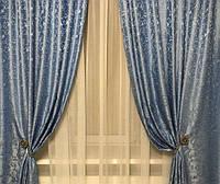"""Комплект штор из жаккардовой ткани """"Завиток"""", фото 1"""