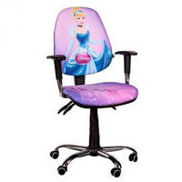 Кресло  детское AMF Бридж Хром Дизайн Дисней Золушка